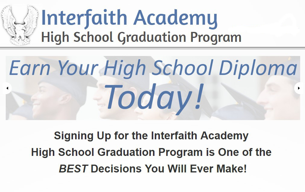 Interfaith Academy High School Graduation Program